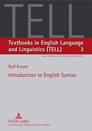 Introduction to English Syntax (Textbooks in English Language and Linguistics (TELL))