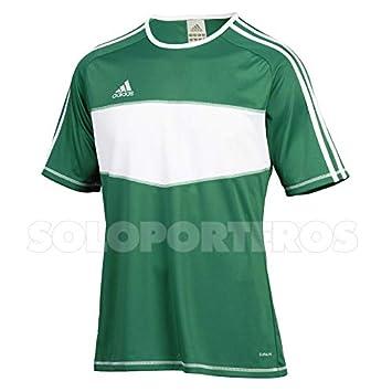 adidas Camiseta Entrada Verde-Blanca Talla S: Amazon.es: Deportes y aire libre