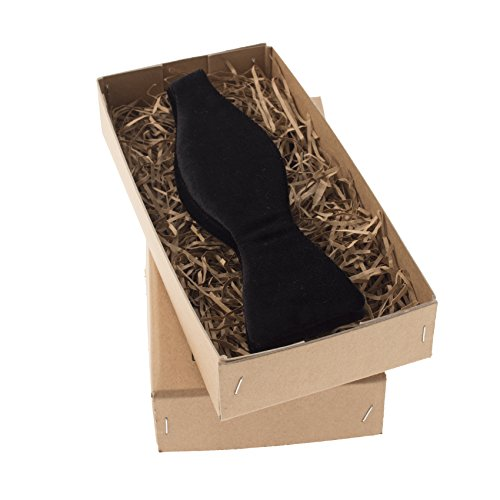 Black Velvet Self-Tie Bow Tie (Black Velvet Bow Tie)