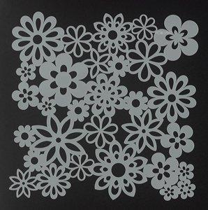 Bible Journaling Stencils - Gathered Flowers (6