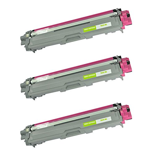 3 packs compatible brother tn225m