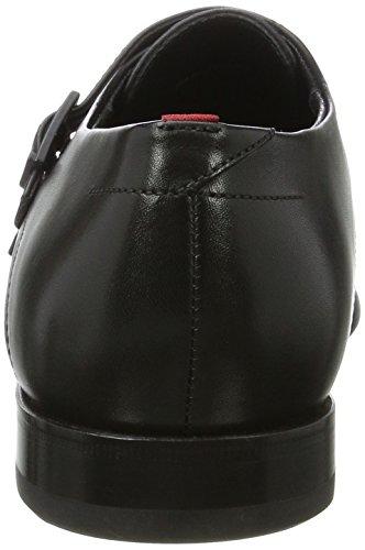 HUGO 50369826, Zapatos Derby Hombre Negro (Black)