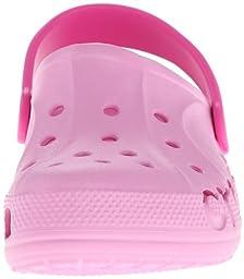 crocs 10190 Baya Clog (Infant/Toddler),Carnation/Neon Magenta,2-4 M US Little Kid
