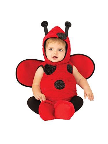 Rubie's Kids' Toddler Opus Collection Lil Cuties Little Ladybug Onesie Costume, Black/Red,]()