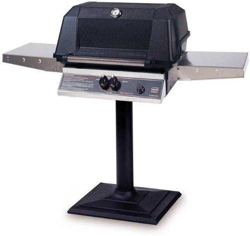 Mhp Gas Grills Wnk4dd Natural Gas Grill W Searmagic Grids On Bolt Down Post