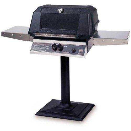 Mhp Gas Grills Wnk4dd Natural Gas Grill W/ Searmagic Grids On Bolt Down Post ()