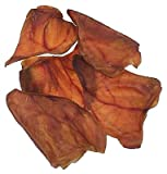 Jones Natural Chews 185 Premium Pig Ears Dog Treat44; Pack of 100