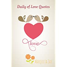 Daily of Love Quotes: Valentine Kisses (Inspirational love quotes Book 4) (English Edition)