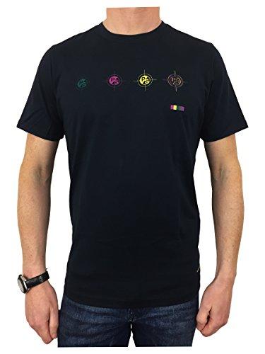 Paul Smith Herren T-Shirt blau navy Small