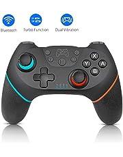 Wireless Switch Pro Controller, Gamepad Joypad voor Nintendo Switch, Remote Switch Controller Gamepad Joypad, Joystick voor Nintendo Switch Console, Ondersteunt Gyro-as, Turbo en Dubbele Vibratie