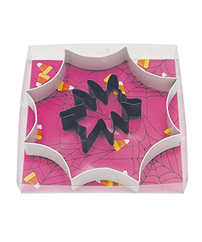 R&M International 1891 Spider Web 2-Piece Cookie Cutter