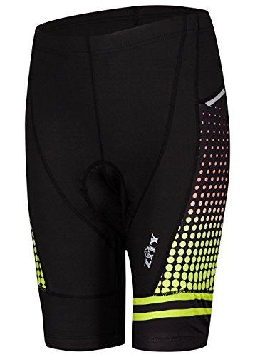 Bike Pants for Womens,High Waistband Cycling Shorts Biking Bicycle Pants Half Padded Red M