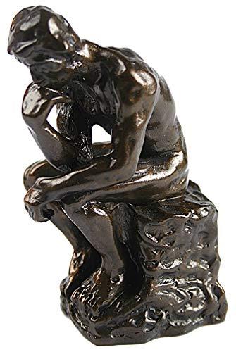 (Parastone Rodin The Thinker Miniature Statue Pocket Art PA01RO)