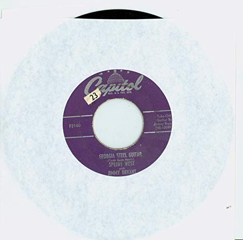 Georgia Steel Guitar | Midnight Ramble - Speedy West With Jimmy Bryant (Capitol Records 1952) Excellent (5 out of 10) - Vintage 45 RPM Vinyl Record