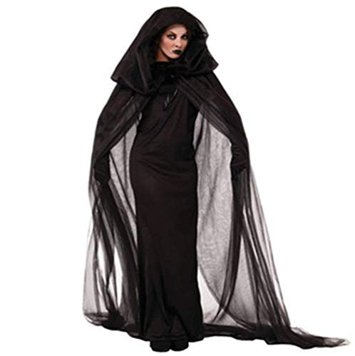 mywaxberry Halloween Party,Witch Devil Vampire Lace Costume -