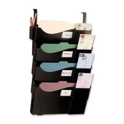 OIC21728 - Central Filing System,f/ Ltr/Lgl,16-5/8x5x27-1/2,BK by Officemate