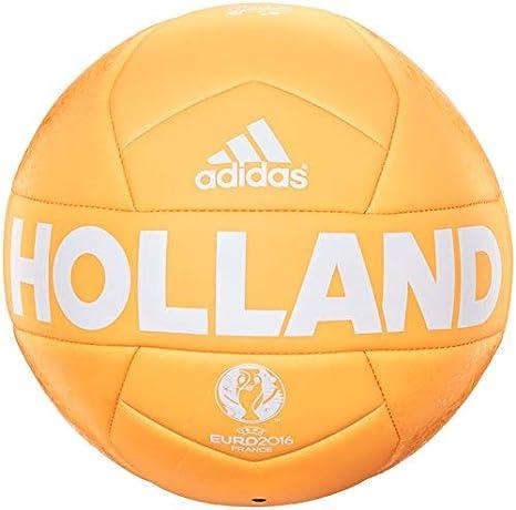 adidas EURO16 Holanda Capitano - Pelota de fútbol, Color Solar Oro ...