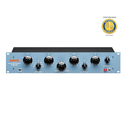 Warm Audio EQP-WA Pultec Style Tube Equalizer with 1 Year EverythingMusic Extended Warranty Free by Warm Audio