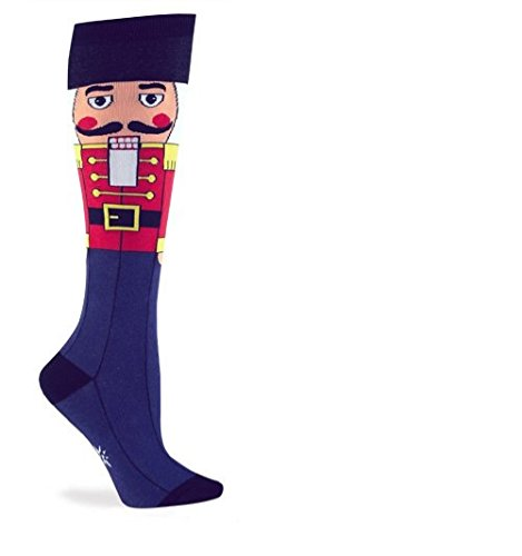 Sock It To Me NUTCRACKER Womens Knee Sock,One size fits most adults