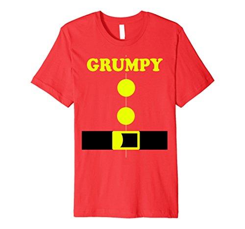 Teacher Halloween Costumes Ideas (Mens Halloween Dwarf Costume Kindergarten Funny 7 Teachers Shirt 3XL Red)