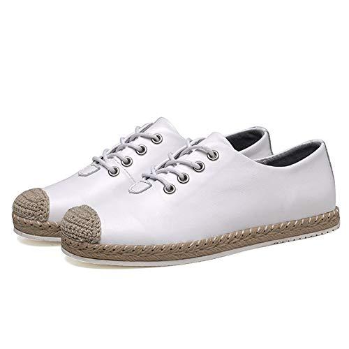 Mujeres Mujer Zapatos Zapatos Modelos WFCAYDHN Treinta Thirty nbsp;Solteros Estudiantes six Tie Literatura de Blanco 4cEBf4WI