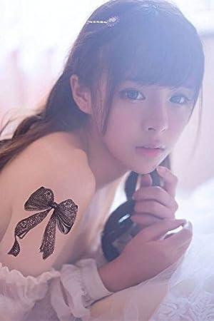 Desconocido Pegatinas de Tatuaje con Lazo de Encaje para Mujer y ...