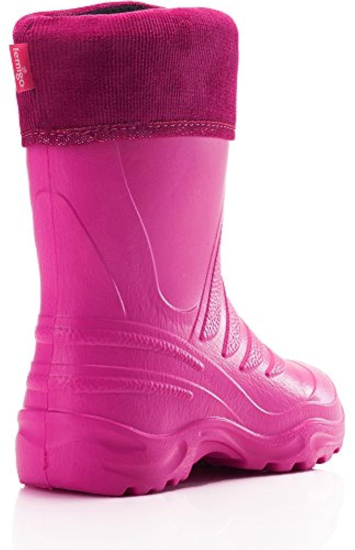 Lemigo Children´s EVA Rubber Wellington Boots 861 (Fuchsia/Pink, EU 32/33 = UK 13,5/1)