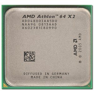 - AMD Athlon 64 X2 4800+ Brisbane 2.5GHz 2 x 512KB L2 Cache Socket AM2 65W Dual-Core Processor