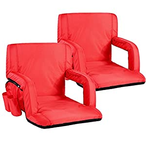 Sportneer Stadium Seat Portable Seats Chairs for Bleachers with Backs and Padded Cushion from Sportneer