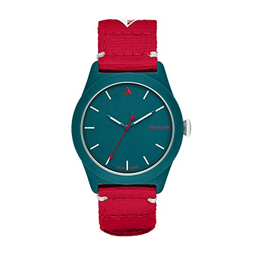 One Eleven Analog-Quartz Watch with Nylon Strap, red, 22 (Model: CBOE2011) ()