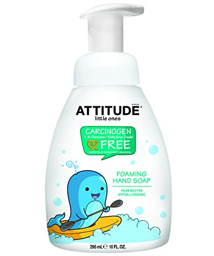 ATTITUDE Foaming Hand Soap Pump, Pear Nectar, 10 Fluid ()