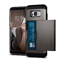 Spigen Slim Armor CS Designed for Samsung Galaxy S8 Plus Case (2017) - Gunmetal