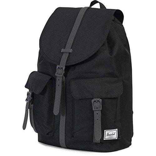 OS Supply Black 00919 Rubber Quiz Lunch w6f5ULgm7X Herschel Pop 10301 Raven gris Crosshatch Noir Box OdTq8Sx