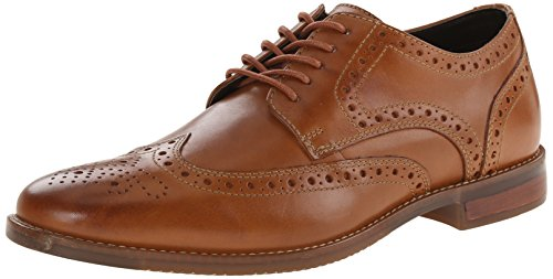 Rockport Men's Style Purpose Wingtip Tan 10.5 W (EE)-10.5 W