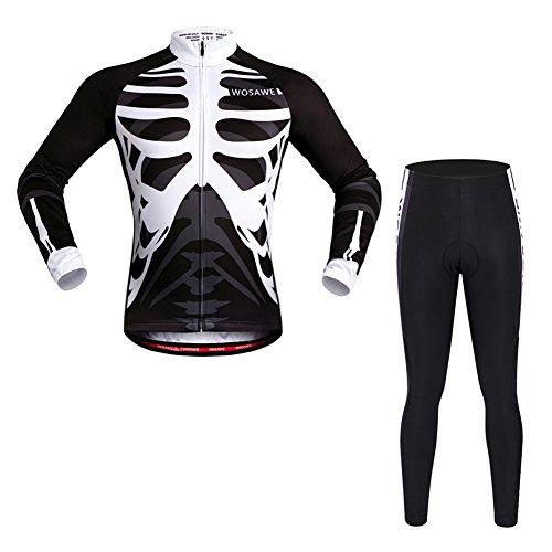 BaiTe Der Herbst Männer Fahrradbekleidung Set Sportanzug Fahrrad Außen Langarmtrikot Breath Quick dry