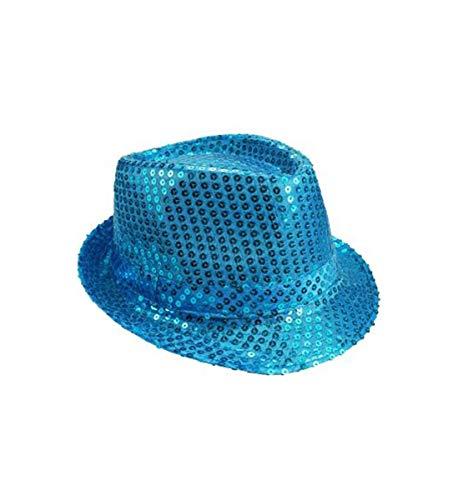 Mozlly Glamorous Sequin Fedora Hat, 11