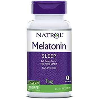 Natrol Melatonin 1mg Tabs, 180-Count