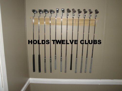 Golf Club Display Rack 12 Club Holder
