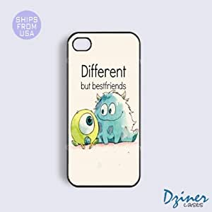 iPhone 4 4s Tough Case - Best Friends Quote iPhone Cover