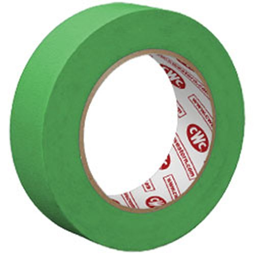 3/4'' x 60 YD. 5 Mil Green Painters Tape (48 Rolls) - CWC 055045 by Miller Supply Inc