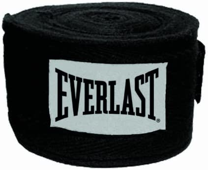 Everlast Boxing Core Hand Wraps Black and Red Size S//M NEW