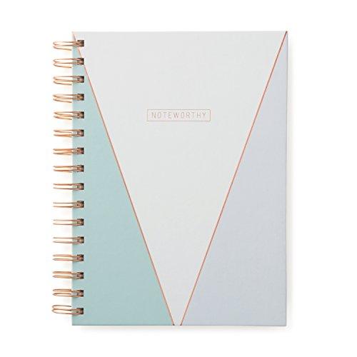 Designworks Ink Twin Wire Bound Journal, Copper Geo Noteworthy