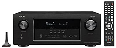 Denon Audio & Video Component Receiver Black (AVRS930H)