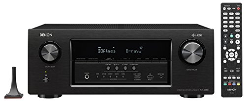 Denon AVRS930H 7.2 Channel AV Receiver with Built-in HEOS Wireless Technology (Best 9.1 Av Receiver)