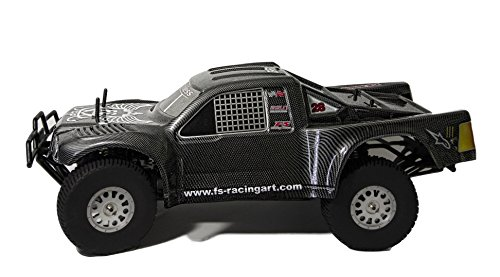 IMEX/FS Racing 2.4GHz 1/5th Scale Carbon Fiber Look 30cc 4WD RTR Short Course Truck (SCT)