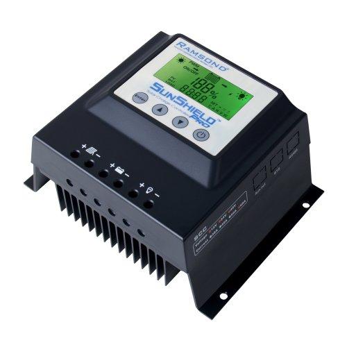 Ramsond® Sunshield 12/24/48 Volt 60 Amp Solar Charge Controller Regulator (60a - 12v/24v/48v) by Ramsond
