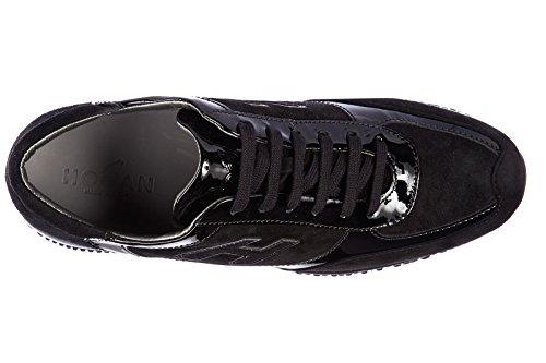 Hogan Zapatos Zapatillas de Deporte Mujer EN Ante Nuevo Interactive h Flock NEGR