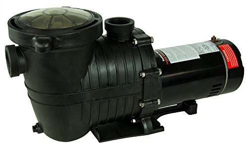 Rx Clear Mighty Niagara Pump| In-Ground Swimming Pool | Single Speed |3/4 HP Pump | Electrical Hookup 115v | 9.2 Amps