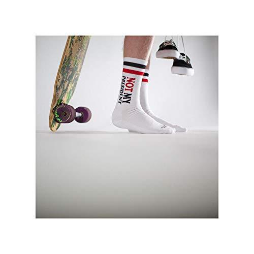 Blanc Pas American Moyenne Mixtes Hauteur Socks Mon President Chaussettes PqUAF1