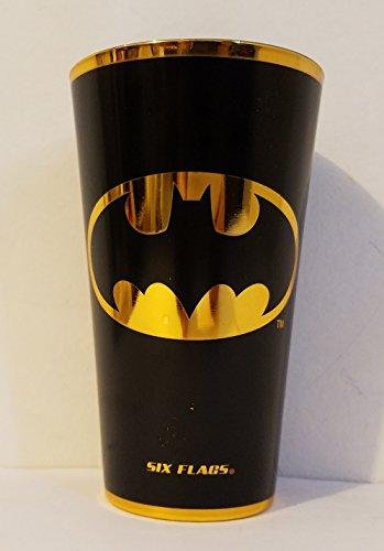tain DC Batman Logo Electroplated Pint Glass ()